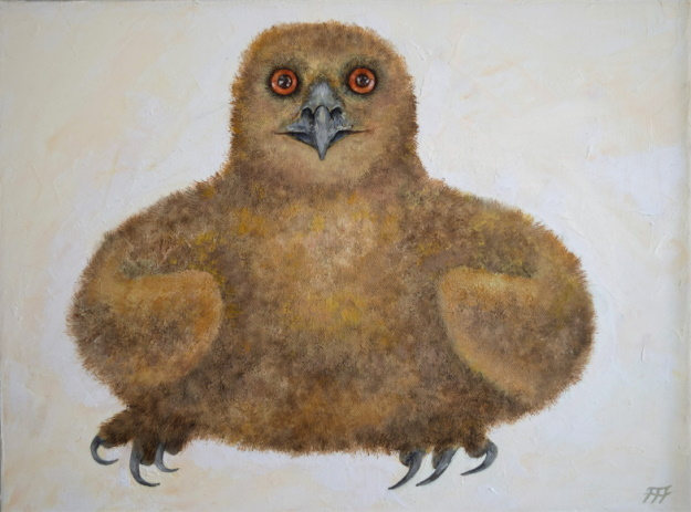 /fig/Birds - Eddie as Chick 1 - 12x16in - 30.5x40.5cm - oil on canvas £2,750.JPG