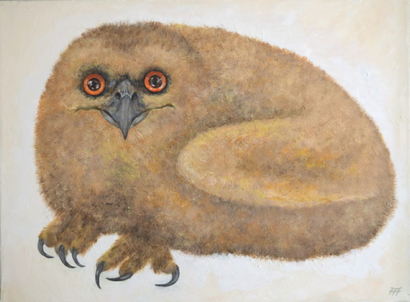 /fig/Birds - Eddie as Chick 2 - 12x16in - 30.5x40.5cm - oil on canvas £2,750.JPG