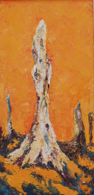 /fig/Trees - Fire Stump 3 51x25cm - 20x10in - oil on canvas £2,850.jpg