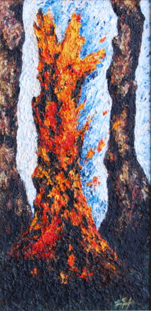 /fig/Trees - Fire Stump 4 51x25cm - 20x10in - oil on canvas £2,850.jpg