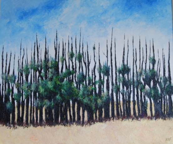 /fig/Trees - Regrowth - 76x91cm - 30x36in - oil on canvas £5,450.jpg